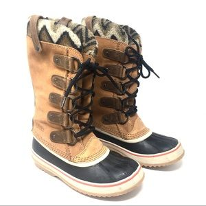 Sorel Joan of Arctic Knit II Winter Leather Boot 8